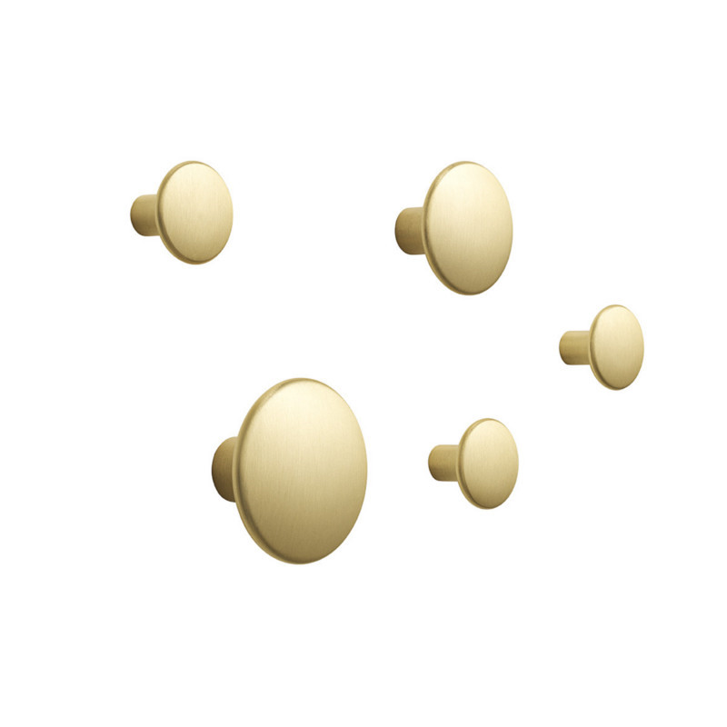 Muuto The Dots Metal Sæt - Messing