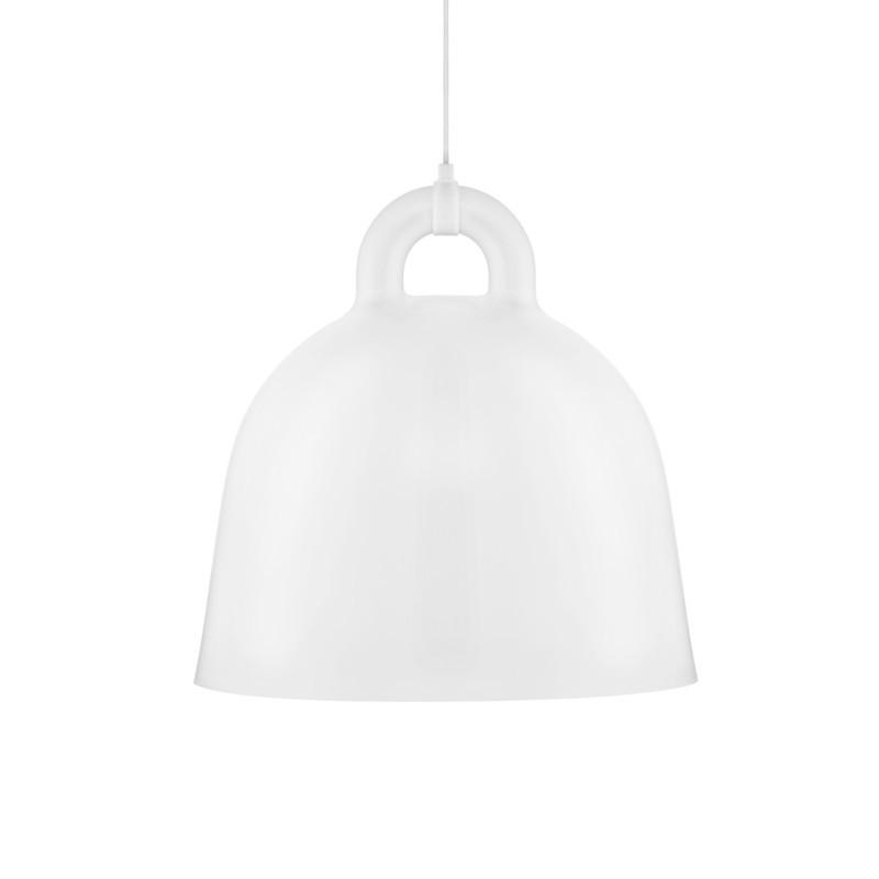 Hvid bell lampe i flere storrelser fra Normann Copenhagen