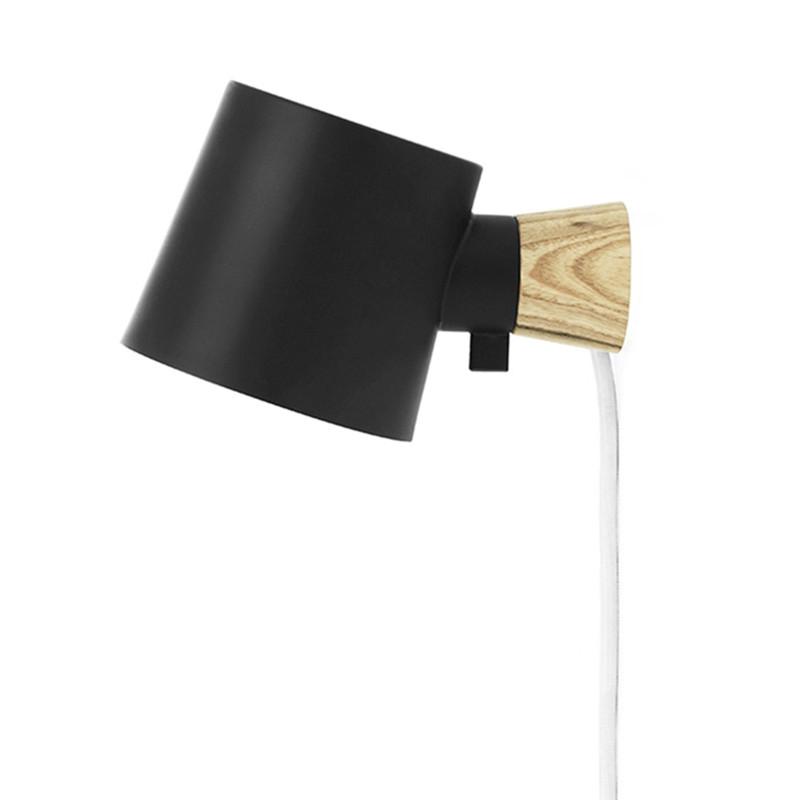 Normann Copenhagen Rise Væglampe Sort