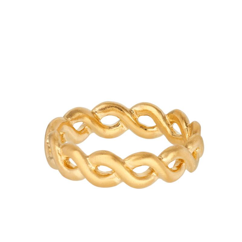 Pernille Corydon Ring Cicerone Forgyldt