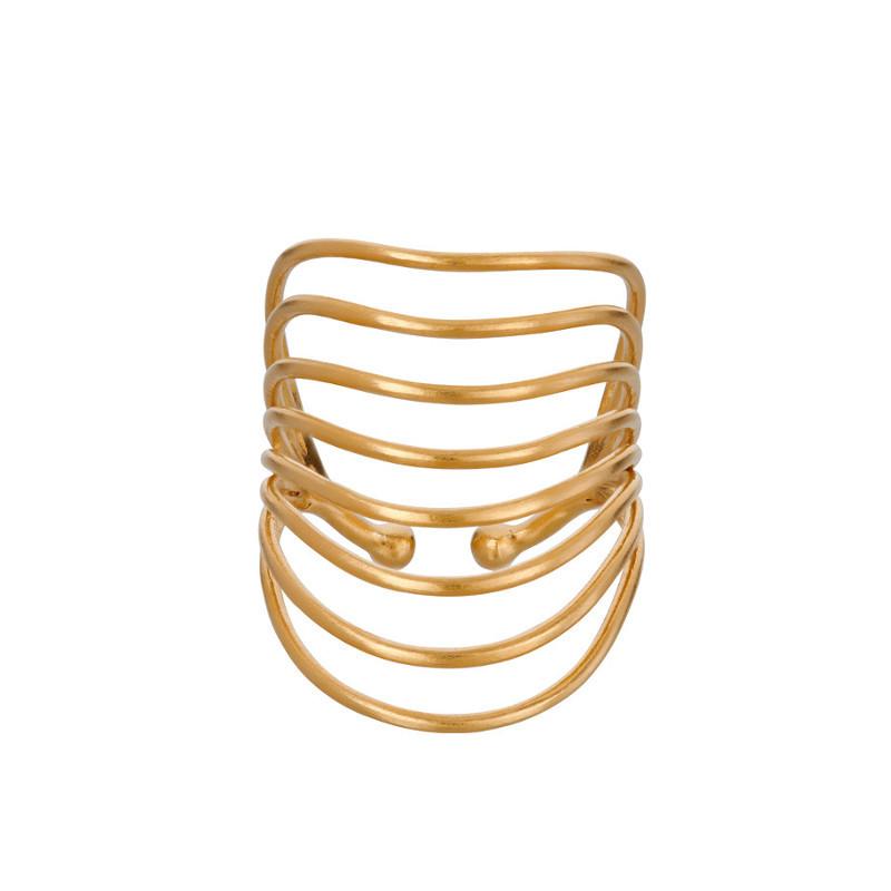 Pernille Corydon Ring Silhouette Forgyldt