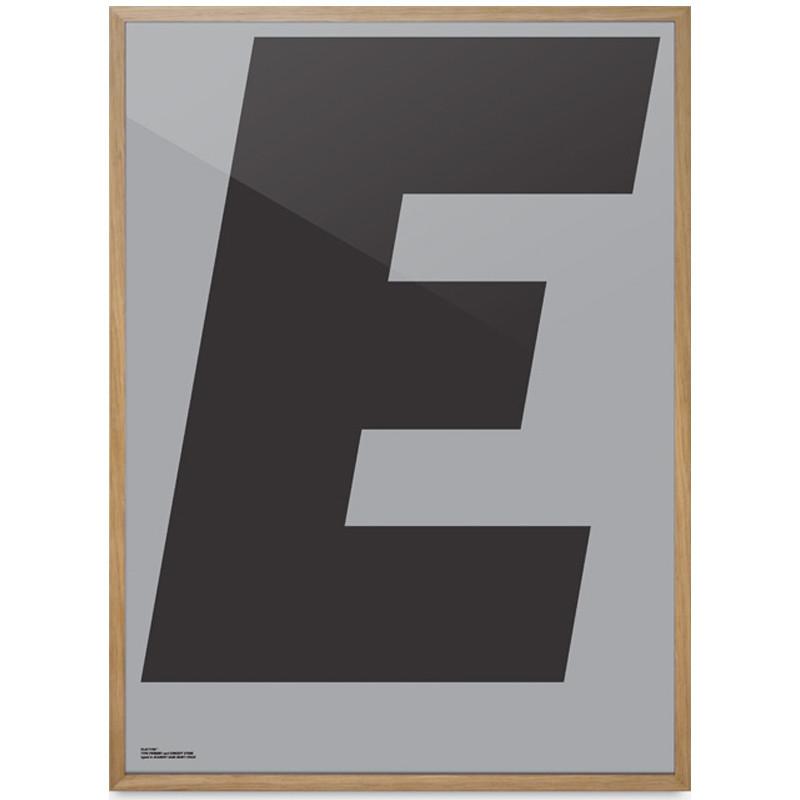 """Playtype """"E"""" plakat"""