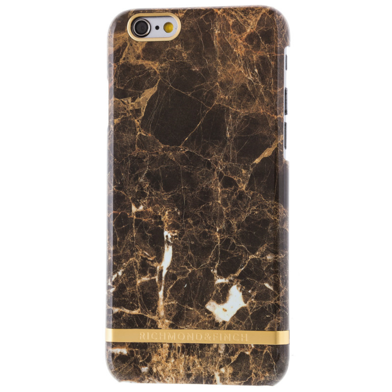 Richmond and Finch Iphone Cover Brown marble 6/6S