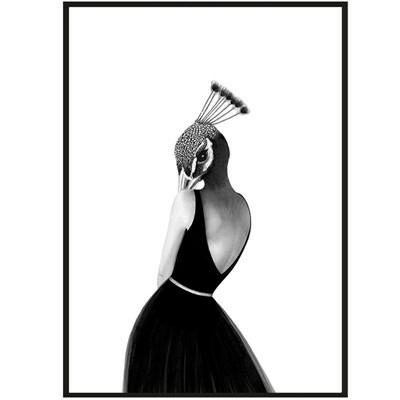 Sanna Wieslander Art Coco Cocktail Postkort