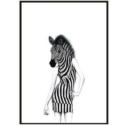 Sanna Wieslander Art Party Animal Postkort