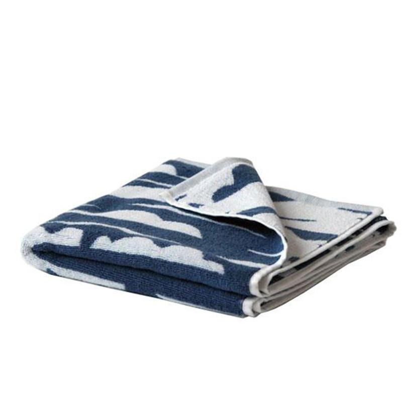 SemiBasic Håndklæde DIP jacquard Wave