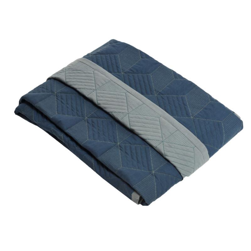 SemiBasic Sengetæppe Dusty Blue