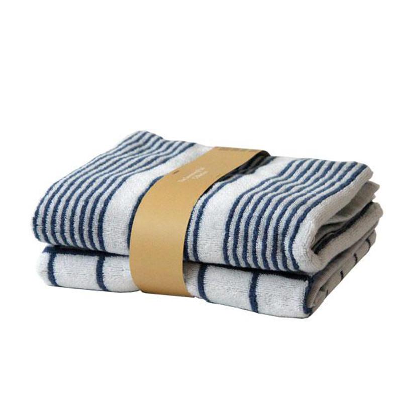 SemiBasic Gæstehåndklæder Lanes/Tile