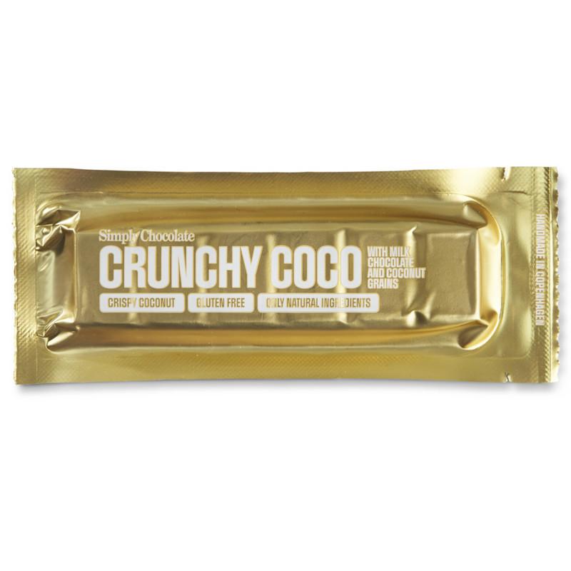 Simply Chocolate Crunchy Coco Chokoladebar
