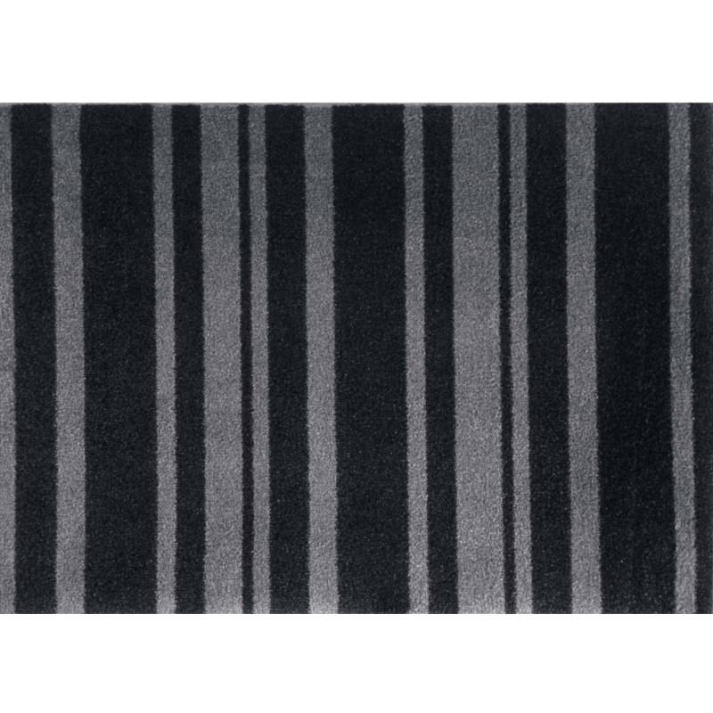 Skriver Collection Dørmåtte Trendmat Deluxe Black Stripe