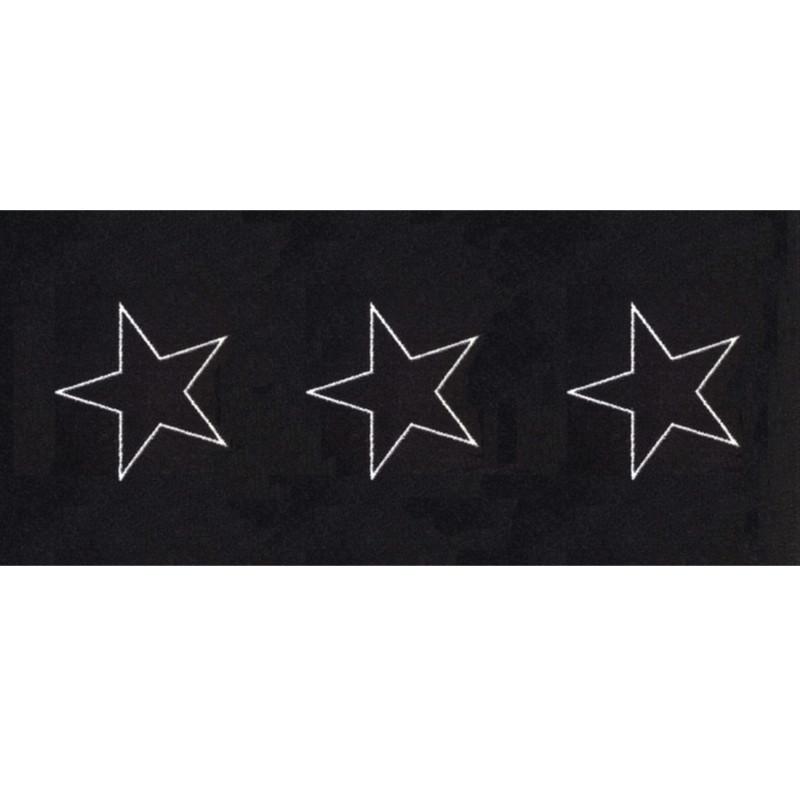 Skriver Collection Dørmåtte Trendmat Deluxe 30015 Black Star