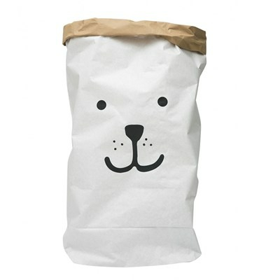 Tellkiddo Paper bag Bear Face