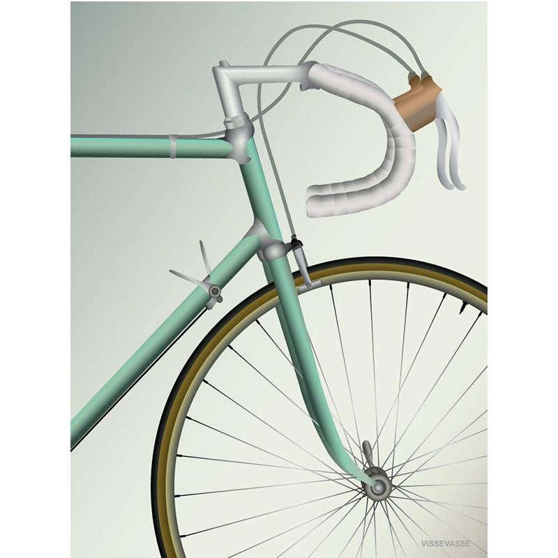 Vissevasse plakat Racing Bicycle