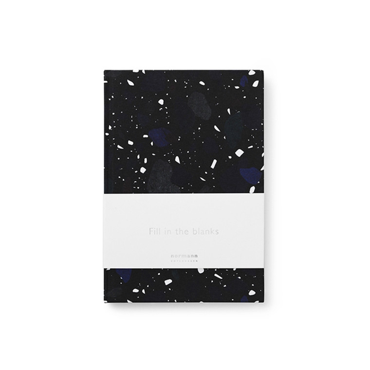 Normann Copenhagen Notebook Lille, Space Stone Dark