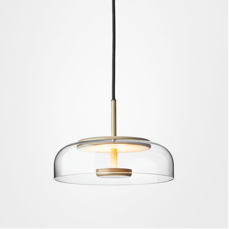 Nuura Blossi 1 Pendel Nordic Gold/Clear