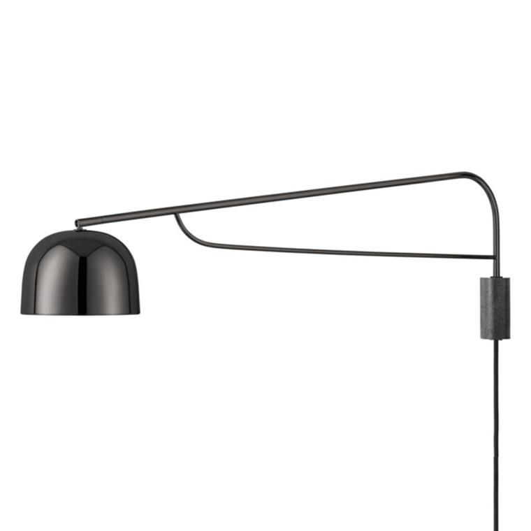Normann Copenhagen Grant Væglampe 111 cm. Sort