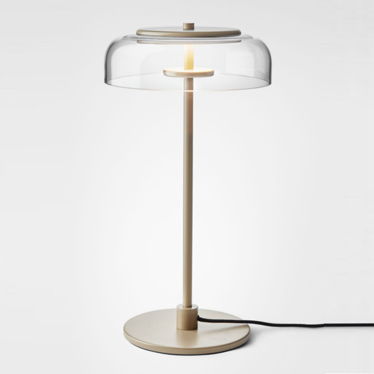 Nuura Blossi Bordlampe Nordic Gold/Clear