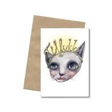 Bob Noon Postkort Tiara