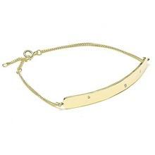 Louise Kragh 3 Raw Diamond Armbånd Guld