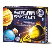 4M  KidzLabs - 3D Solsystem Uro Konstruktionssæt