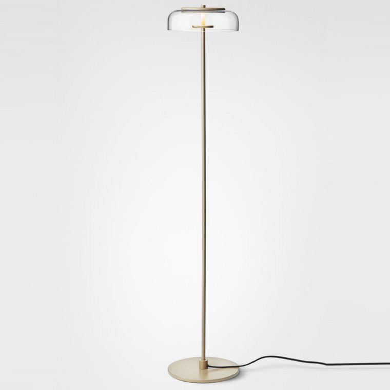 Nuura Blossi Gulvlampe Nordic Gold/Clear