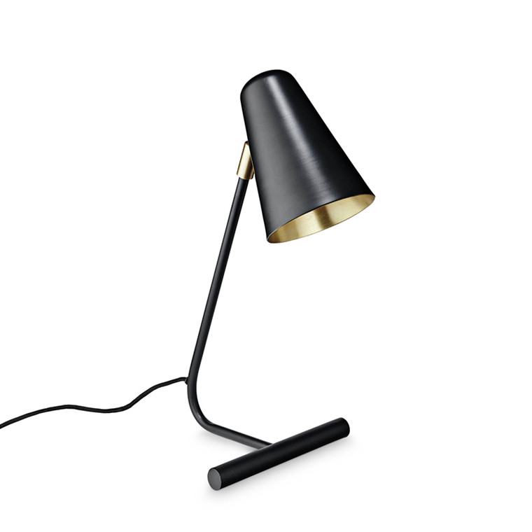 H. Skjalm P Bordlampe Mat sort