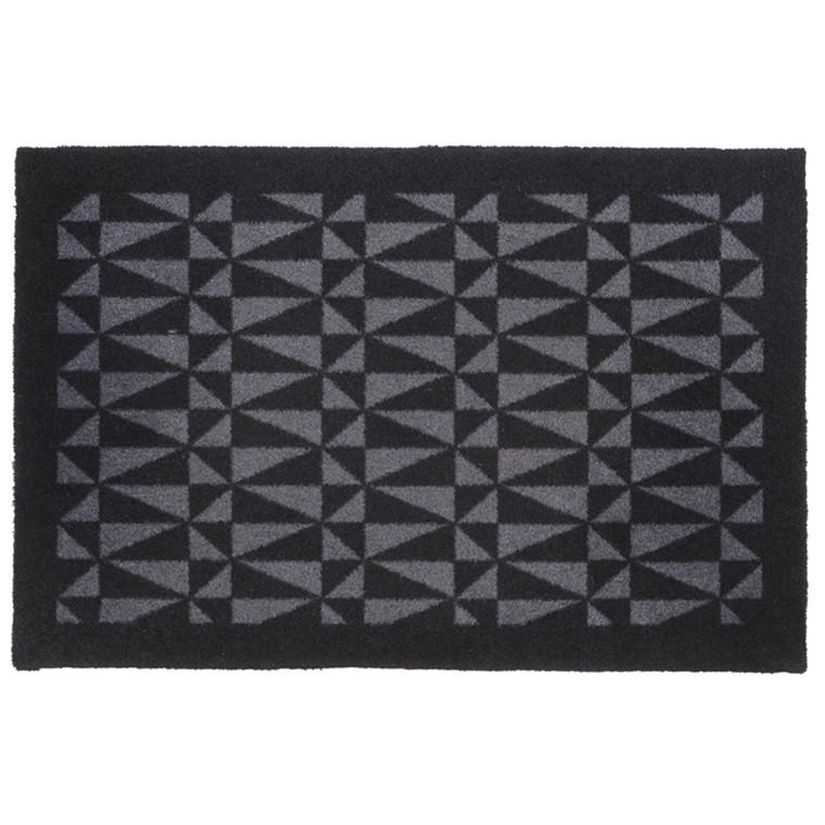 Tica Copenhagen Smudsmåtte trekant sort/grå