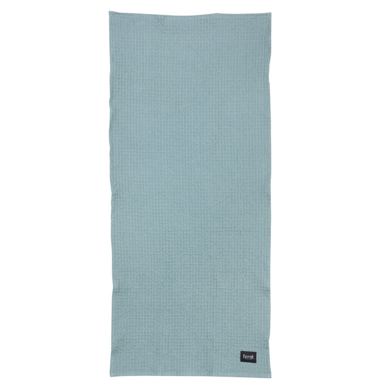 Ferm Living Badehåndklæde Dusty Blue