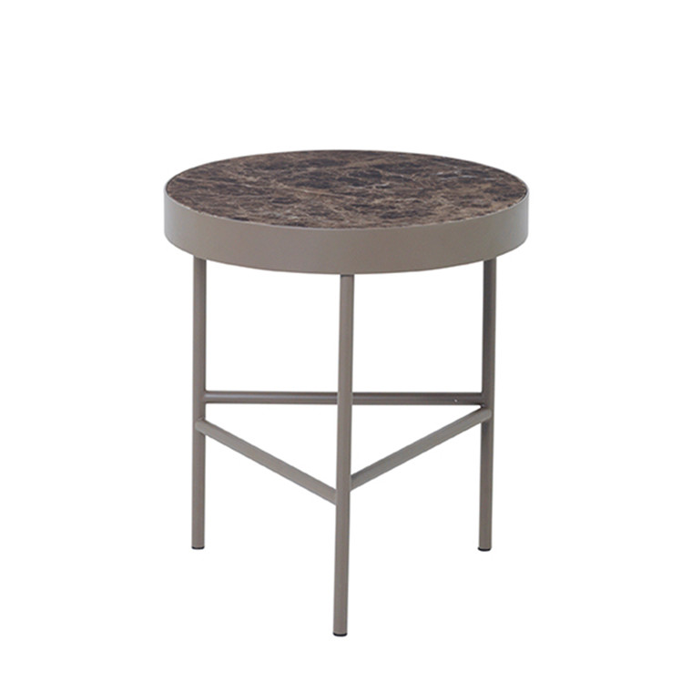 Ferm Living Marmorbord medium brun
