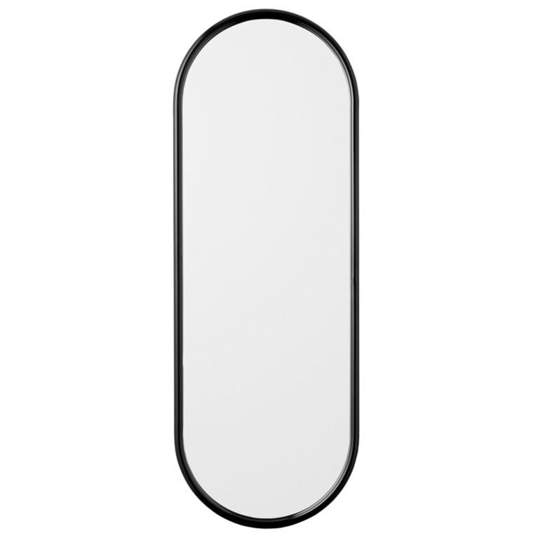 AYTM Angui Oval Spejl Antracit Stor