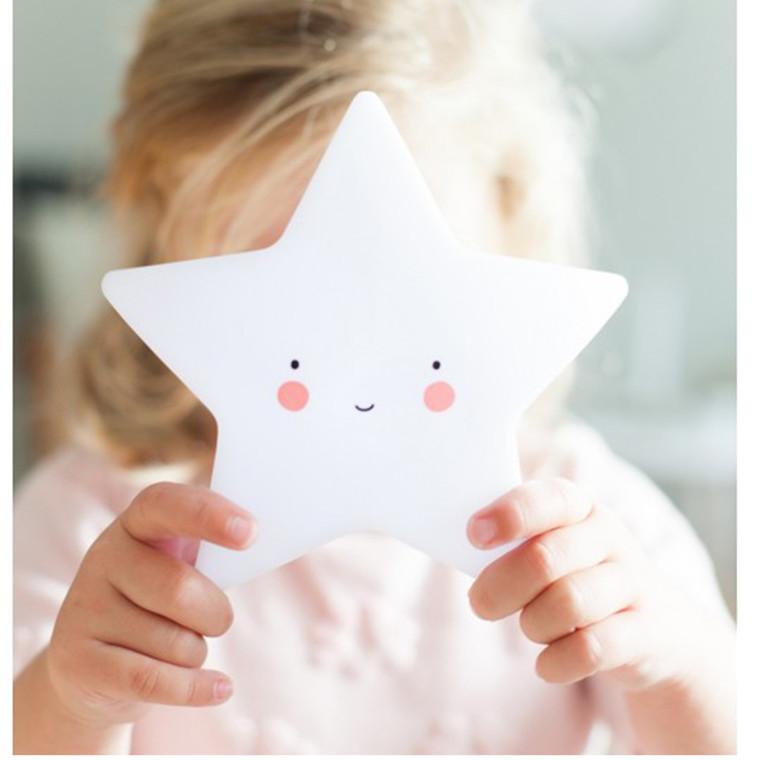A Little Lovely Company Mini star light White