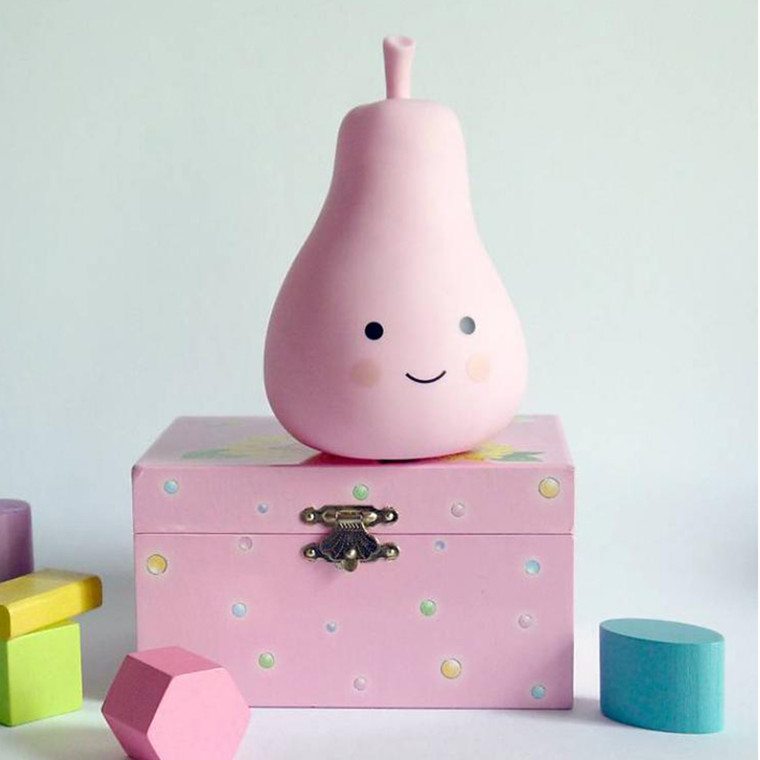 A Little Lovely Company  Mini pear light Pink
