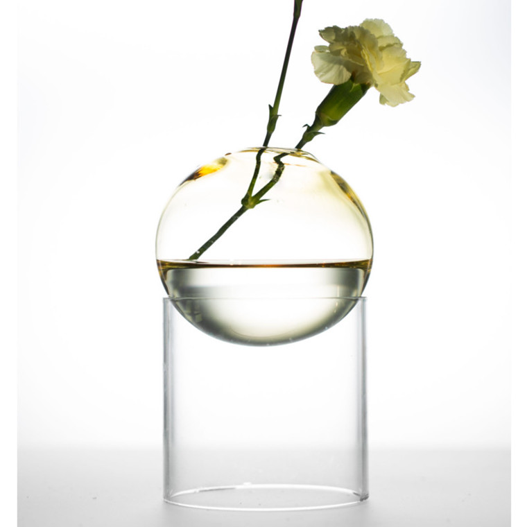 About Form And Function Bordboble Vase Gul 8 cm