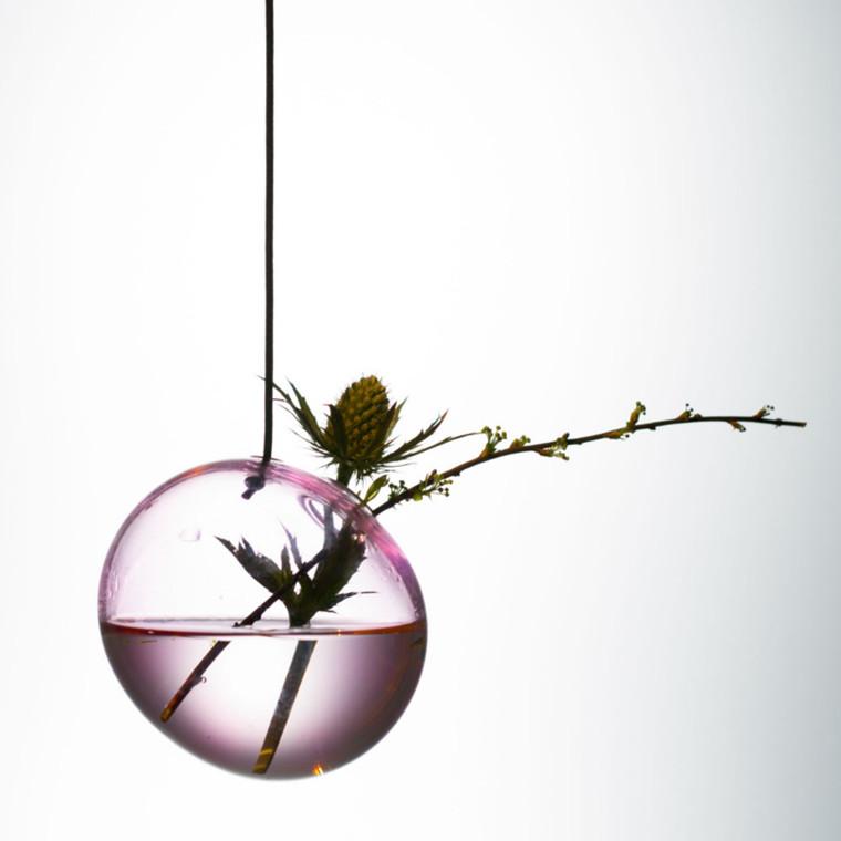 About Form And Function Hænge Boble Vase Rosa 8 cm