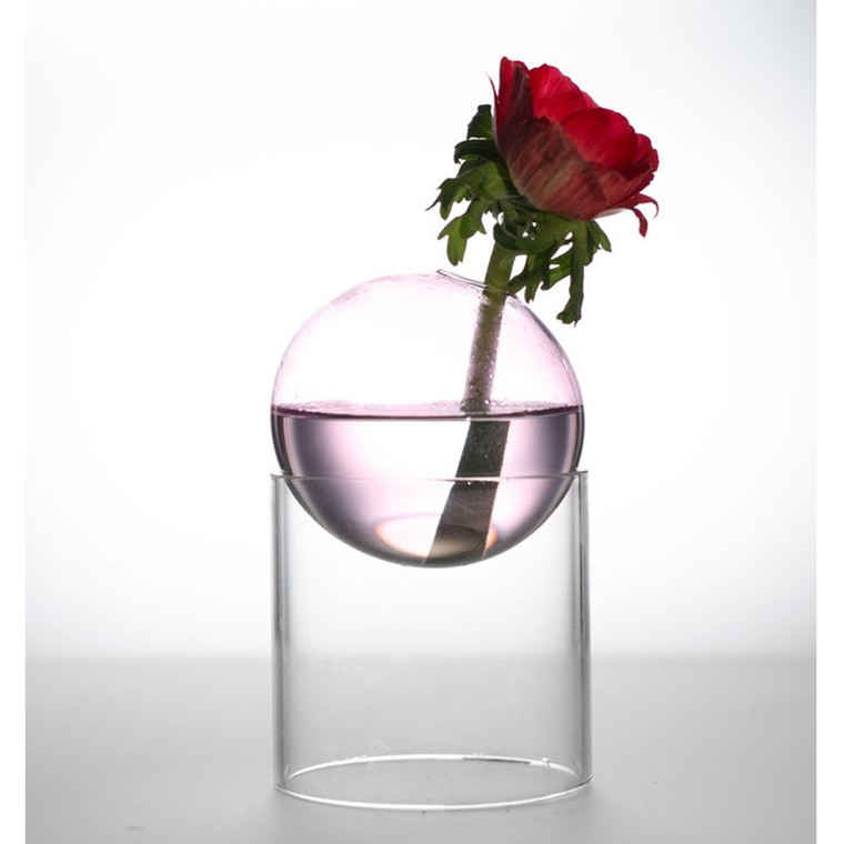 About Form And Function Bordboble Vase Rosa 8 cm