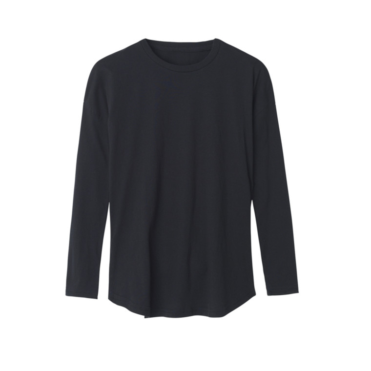 Aiayu Sleeve tee 3/4 Black