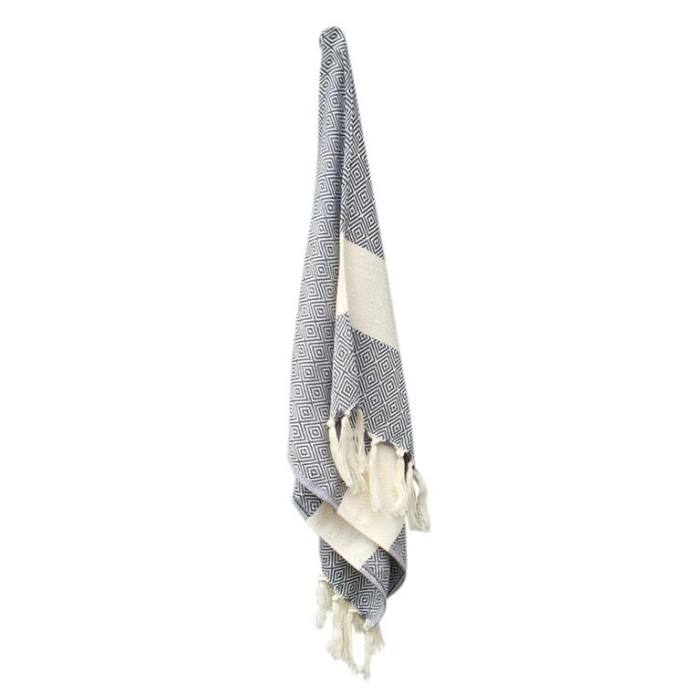 Algan Elmas Gæstehåndklæde Koksgrå