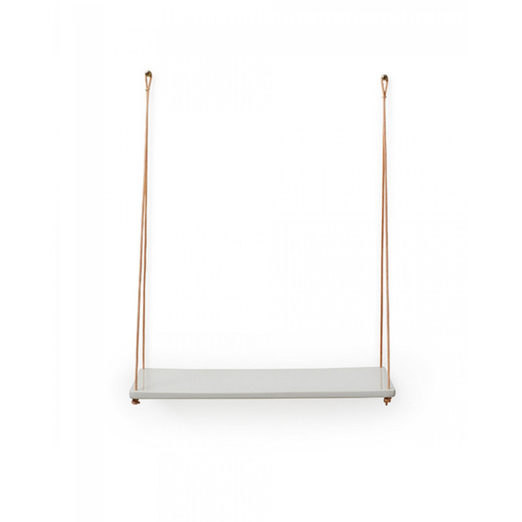 Anne Black Hang Shelf Hvid