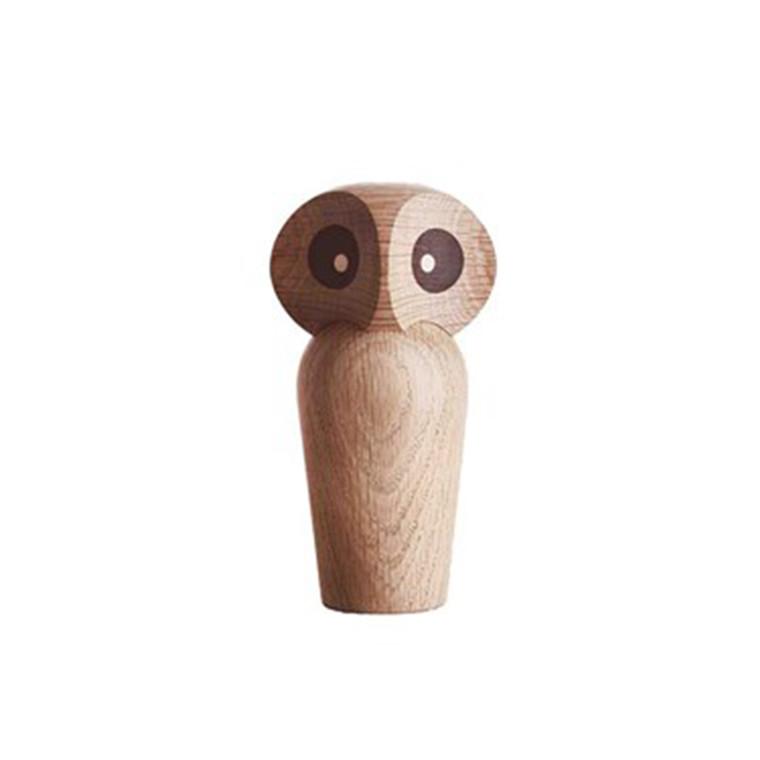 Architectmade Owl Ugle Mini Egetræ