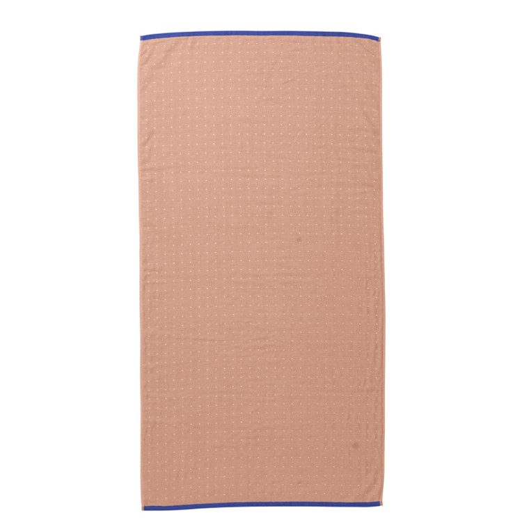 Ferm Living Badehåndklæde Sento, Rosa