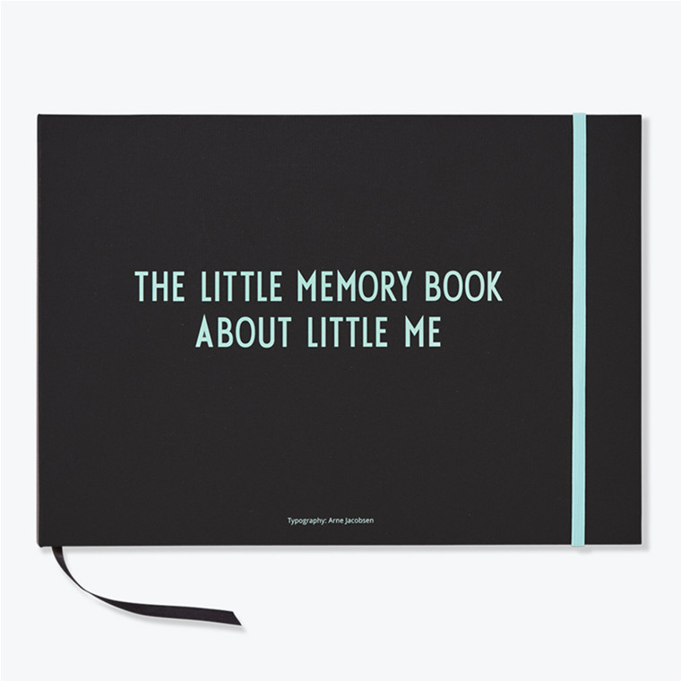 Design Letters The Little Memory Book About Little Me, Tyrkis