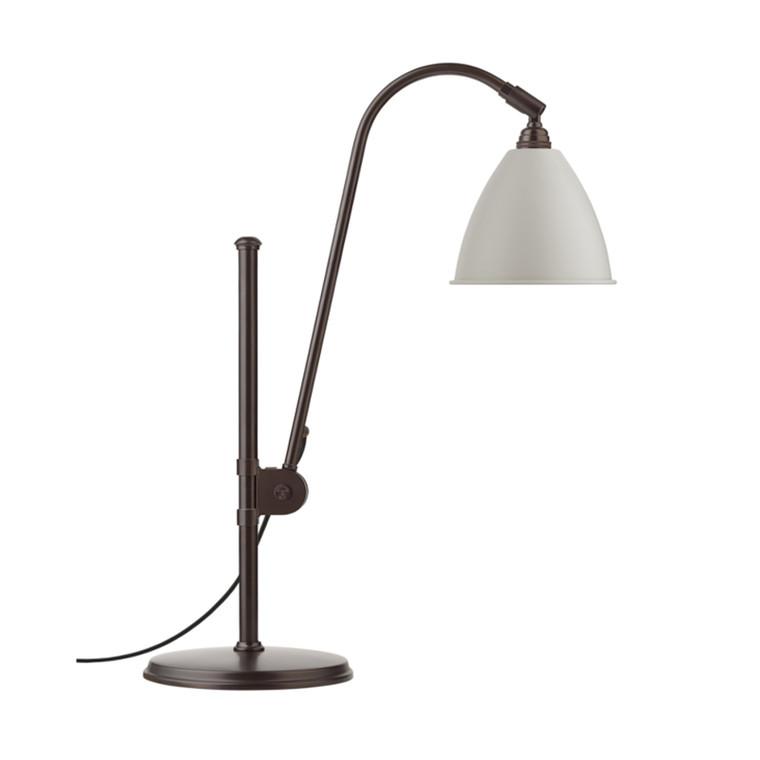 Bestlite BL1 Bordlampe Black Brass Classic White