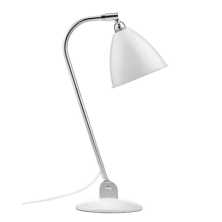 BL2 Bestlite Bordlampe Mat Hvid Krom