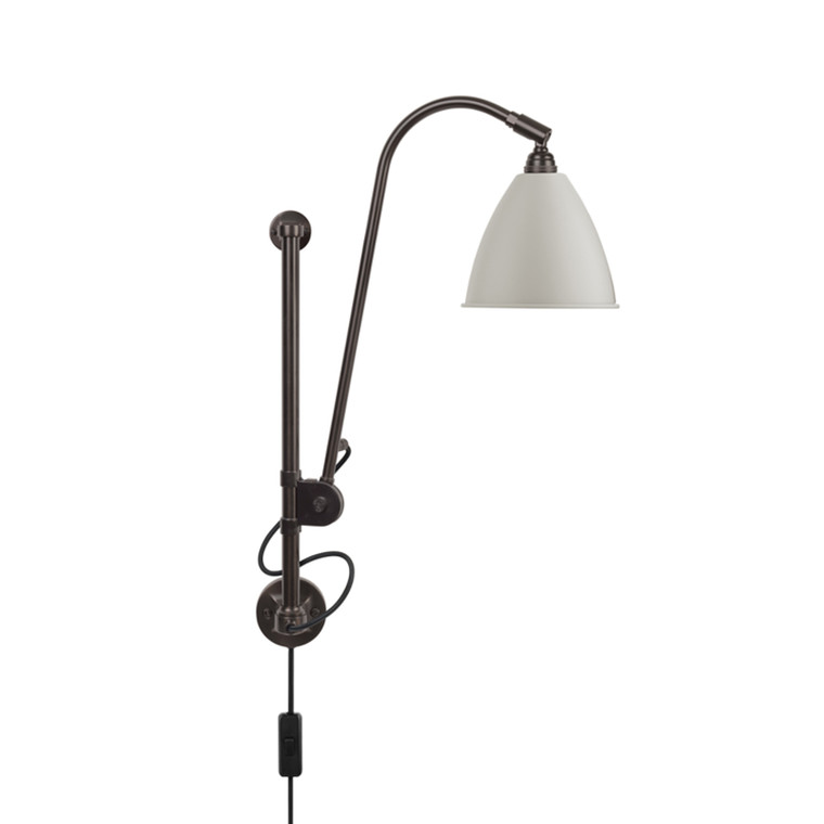 Bestlite BL5 Væglampe Black Brass Classic White