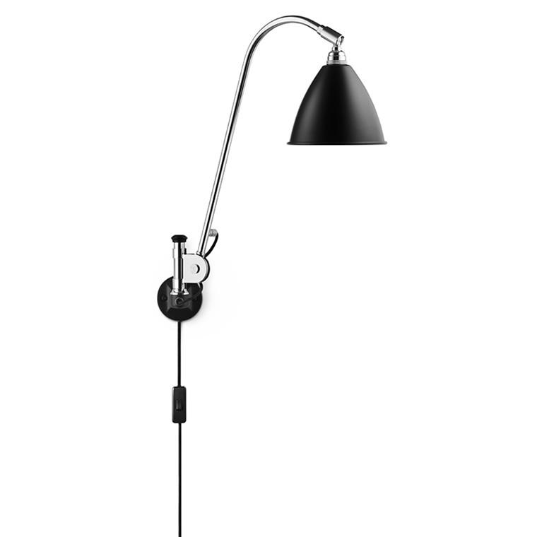 BL6 Bestlite Væglampe Sort Krom