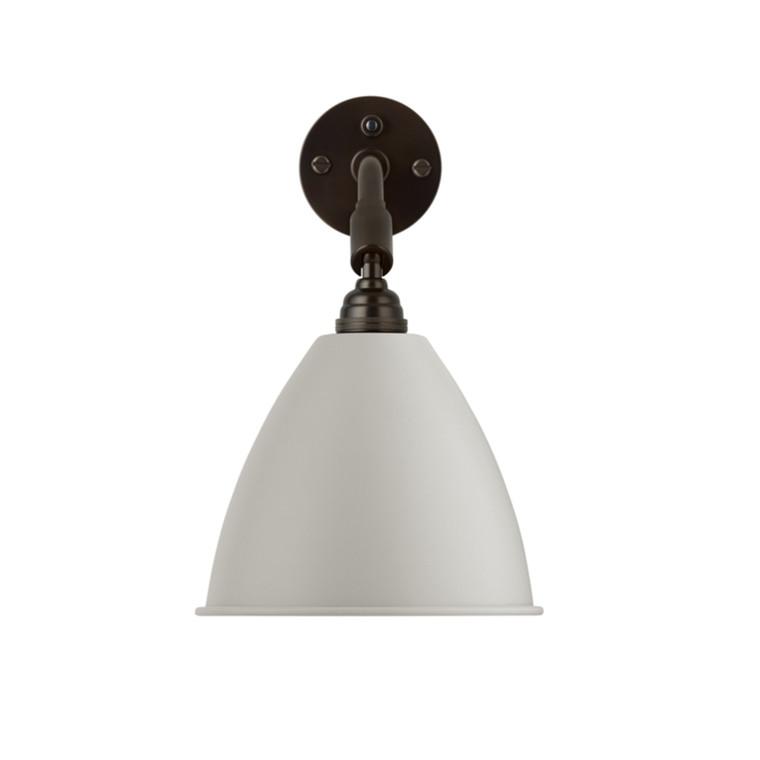 Bestlite BL7 Væglampe Black Brass Classic White