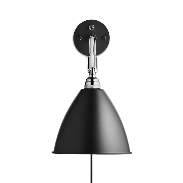 BL7 Bestlite Væglampe Sort Krom