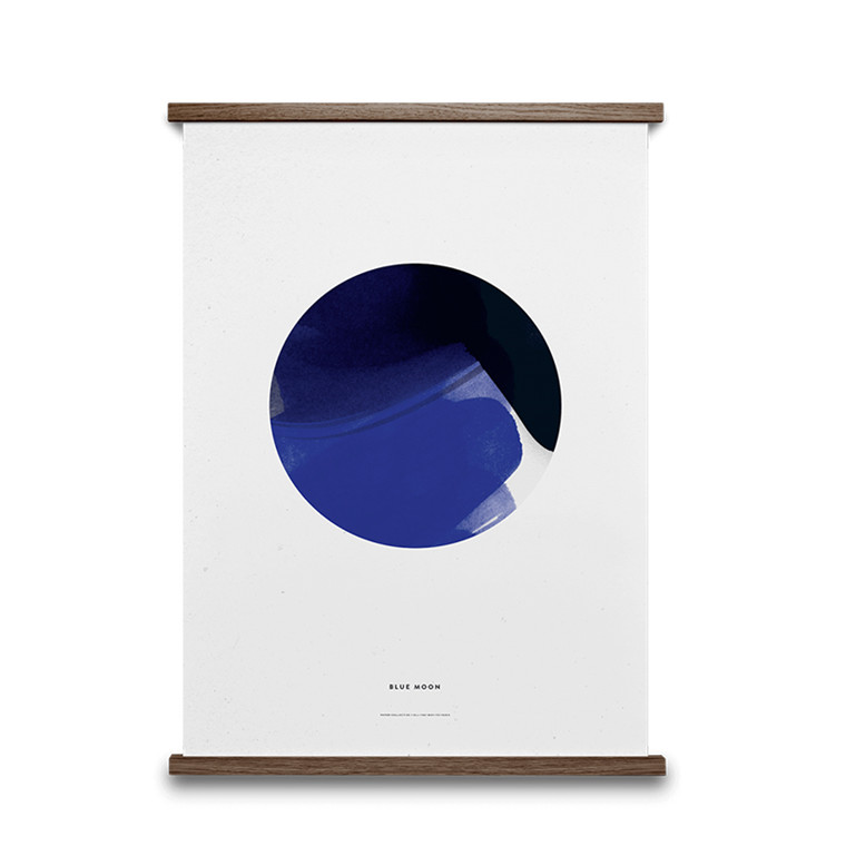Paper Collective Plakat Blue Moon