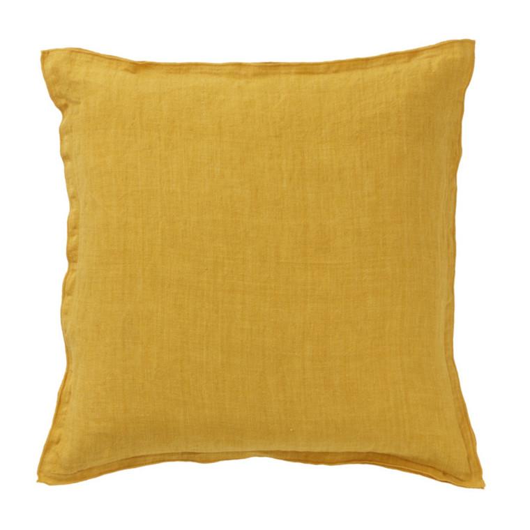 Bungalow Linen Pude Hør Golden