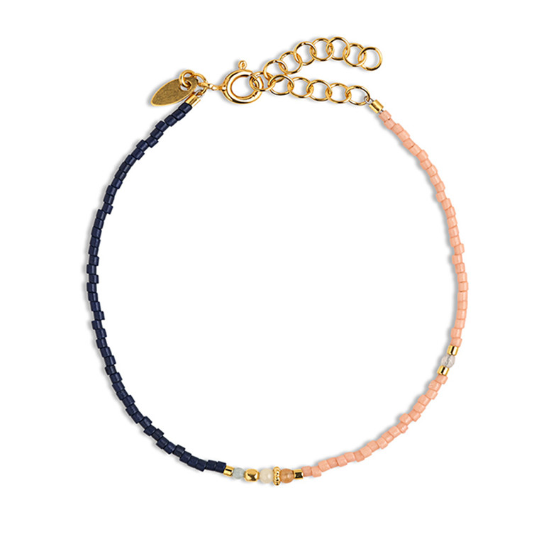By Thiim Armbånd Simplicity Deluxe Navy